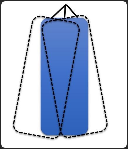 横に揺れるサンドバッグ