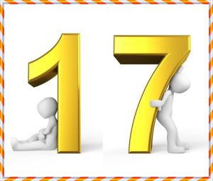 17の数字