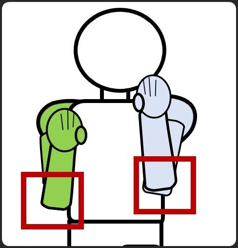 ボクシングの構え 前から ひじを下ろすコツ