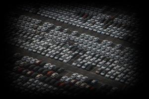 自動車がたくさんある
