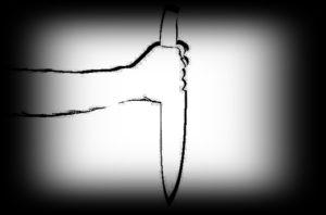 ナイフのシルエット