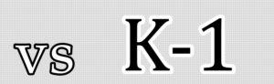 vs K-1の文字