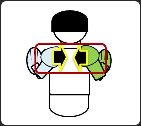 腕立て伏せ 肩甲骨を引き寄せる