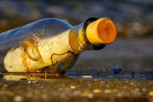 ボトルの中のメッセージ