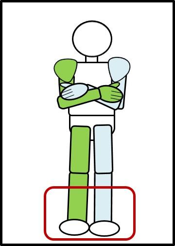 ナロースクワット 足の開き方