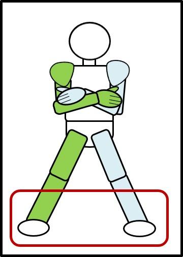 ワイドスクワット 足の開き方