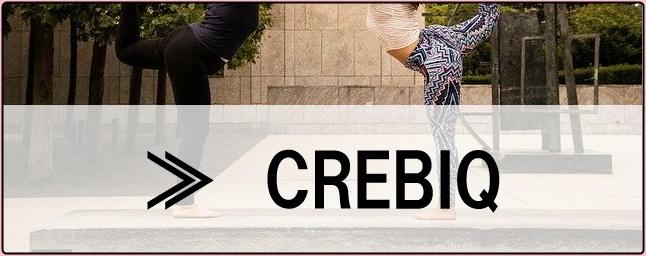 CREBIQのボタン