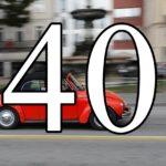 ボルクスワーゲンと40の数字