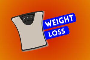 WEIGHT LOSSの文字