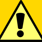 WARNINGのサイン