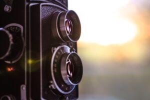 アナログのカメラ