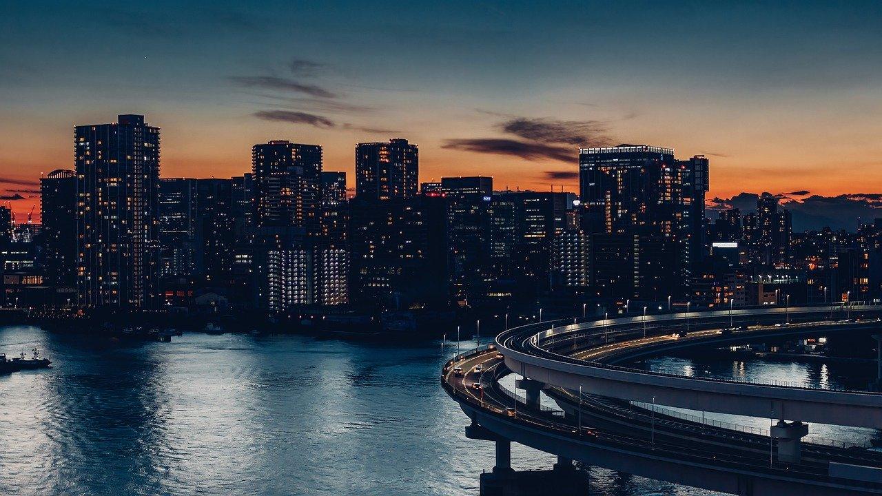 夜景の街並み
