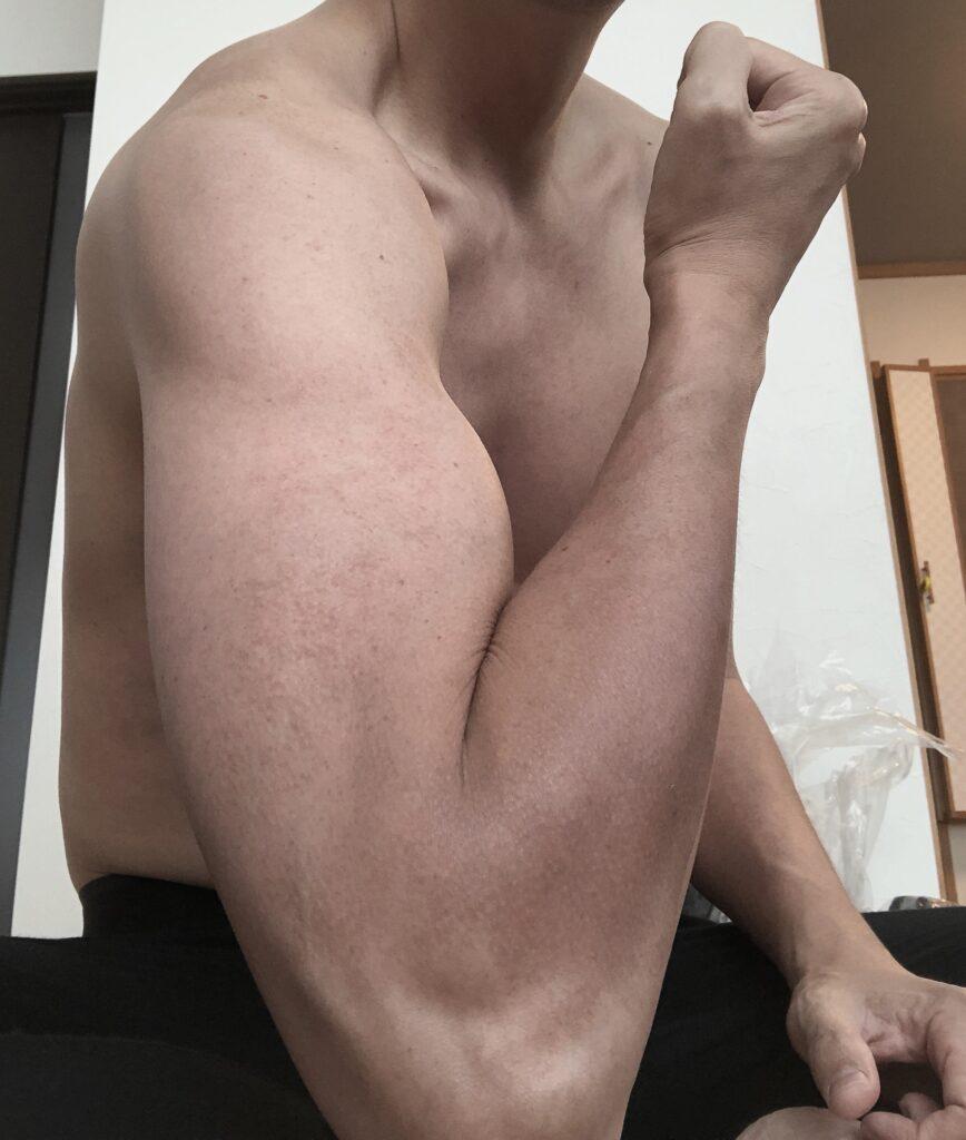 自分の腕の太さ