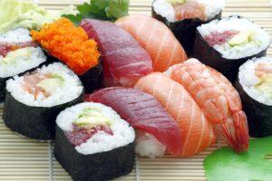 たくさんの寿司